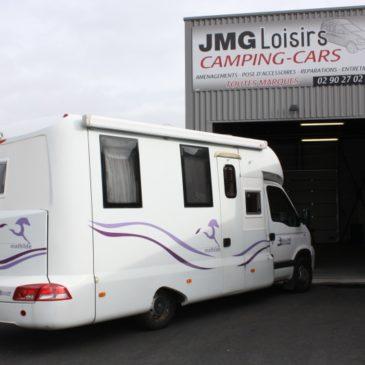 Camping-car Bolloré